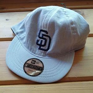 Toddler MLB San Diego Padres Baseball Cap NWT